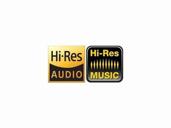 Hi-Res Audio and Hi-Res Music Logo