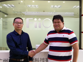 Joint Photo with Kean Zhang of FiiO
