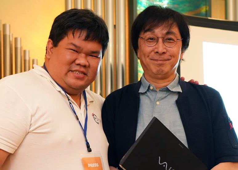 Goh Beng Yeow with Koji Nageno