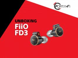 FiiO FD3 Unboxing